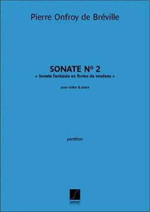 Sonate n° 2 - Violon et piano - laflutedepan.com