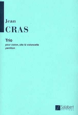 Jean Cras - Trio for Violin, Viola and Cello - Sheet Music - di-arezzo.com