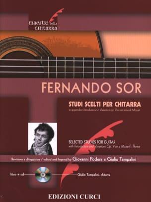 Fernando Sor - Studi scelti - Guitarra - Partitura - di-arezzo.es