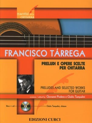 Préludes et Oeuvres choisies - Guitare TARREGA Partition laflutedepan