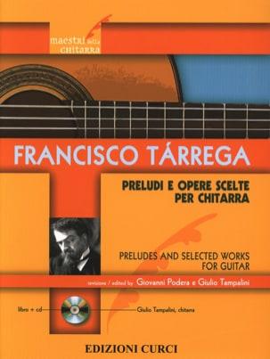 Préludes et Oeuvres choisies - Guitare - TARREGA - laflutedepan.com