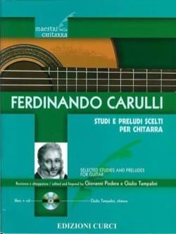 Ferdinando Carulli - Studi e Preludi scelti - Guitar - Sheet Music - di-arezzo.co.uk