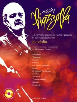 Astor Piazzolla - Easy Piazzolla - Violon - Partition - di-arezzo.fr