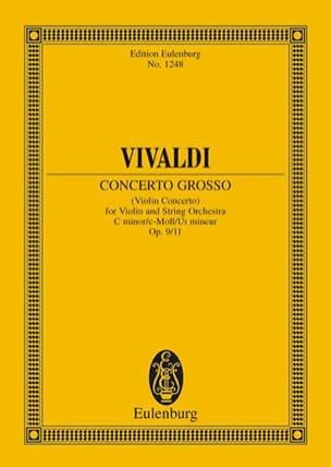 VIVALDI - Violin-Konzert C-Moll, Op. 9/11 - Sheet Music - di-arezzo.com