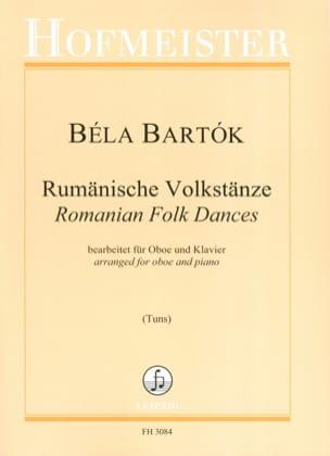 Béla Bartok - Danses Populaires Roumaines - Hautbois et piano - Partition - di-arezzo.fr