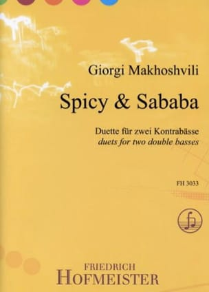 Giorgi Makhoshvili - Spicy - Sabada - 2 Double Bass - Sheet Music - di-arezzo.co.uk