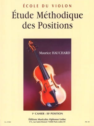 Maurice Hauchard - Etude des Positions Volume 1 - Partition - di-arezzo.ch