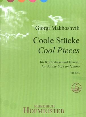 Giorgi Makhoshvili - Cool Pieces - Contrebasse et piano - Partition - di-arezzo.fr