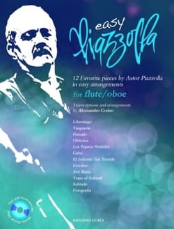 Easy Piazzolla - Hautbois ou Flûte Astor Piazzolla laflutedepan