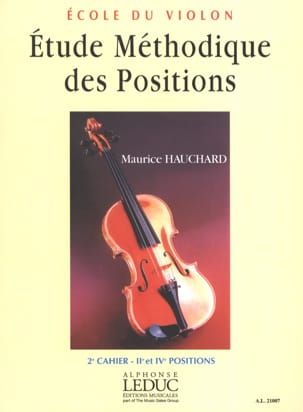 Maurice Hauchard - Etude des Positions Volume 2 - Partition - di-arezzo.ch