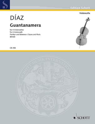 José Fernandez Diaz - Guantanamera - 4 cellos - Sheet Music - di-arezzo.com