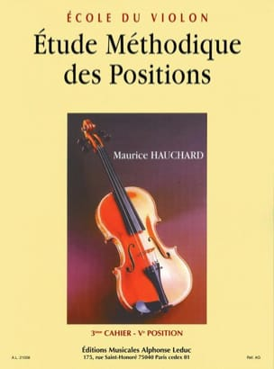 Maurice Hauchard - Etude des Positions Volume 3 - Partition - di-arezzo.fr