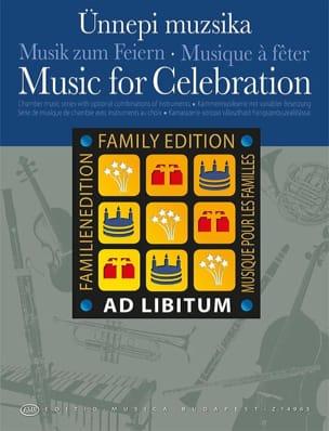 Music for Celebration - Musiques à fêter - laflutedepan.com