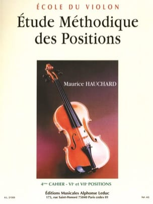 Maurice Hauchard - Study of Positions Volume 4 - Sheet Music - di-arezzo.com
