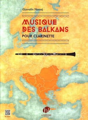 Musique des Balkans - Clarinette Gjovalin Nonaj Partition laflutedepan