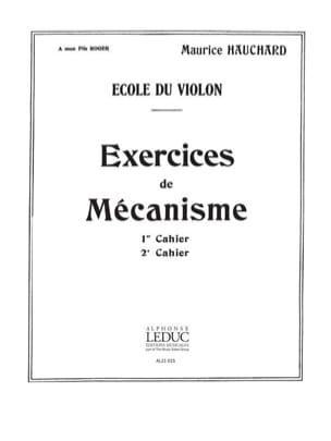 Maurice Hauchard - Volume 2 Mechanism Exercises - Partition - di-arezzo.co.uk