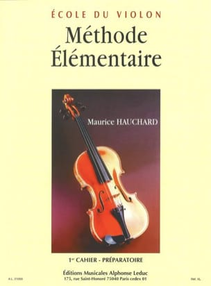 Maurice Hauchard - Grundmethode - Buch 1 - Partition - di-arezzo.de