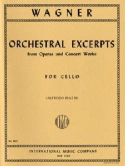 Orchestral Excerpts - Cello Solo - WAGNER - laflutedepan.com