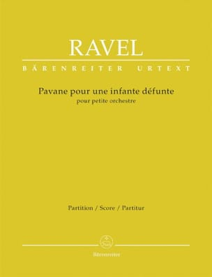 Maurice Ravel - Pavane for a dead infant - Driver - Sheet Music - di-arezzo.com