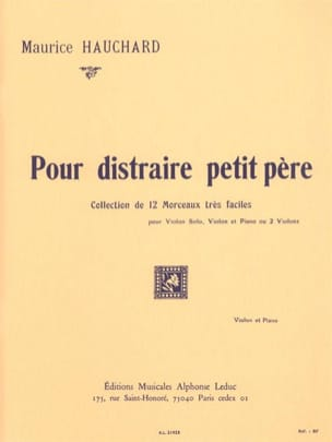 Maurice Hauchard - To distract little father - Sheet Music - di-arezzo.com
