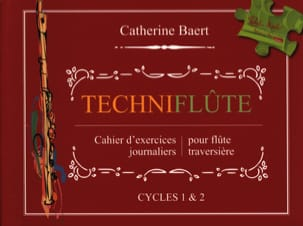 Catherine Baert - Techniflûte - Partitura - di-arezzo.it