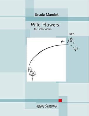 Wild Flowers - Violon solo - Ursula Mamlok - laflutedepan.com