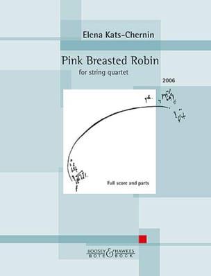 Pink Breasted Robin - Quatuor à cordes - laflutedepan.com