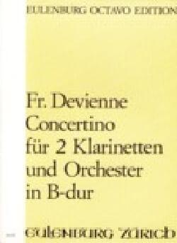 Konzert für 2 Klarinetten - DEVIENNE - Partition - laflutedepan.com