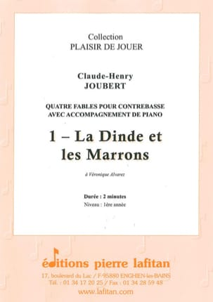 Claude-Henry Joubert - Turkey and Chestnuts - Double bass and piano - Sheet Music - di-arezzo.com