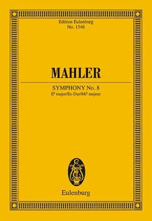 Gustav Mahler - Symphonie n° 8 en Mib Majeur - Partition - di-arezzo.fr