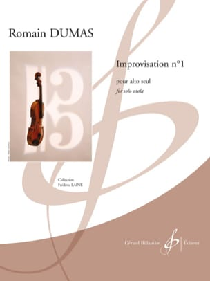 Romain Dumas - Improvisation n ° 1 - Sheet Music - di-arezzo.co.uk