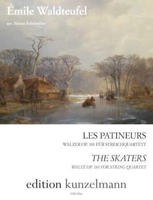 Les Patineurs - Quatuor à cordes - Emile Waldteufel - laflutedepan.com