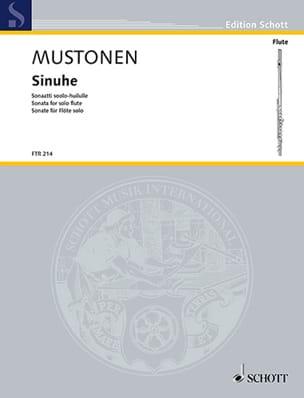 Sinuhe, Sonate - Flûte seule - Olli Mustonen - laflutedepan.com