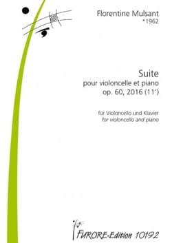 Suite pour violoncelle op. 60 - Violoncelle et piano - laflutedepan.com