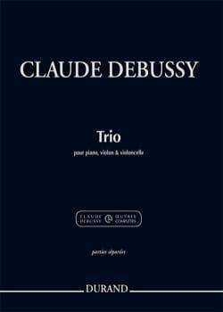 Trio pour Piano, Violon et Violoncelle - Parties séparées de cordes uniquement laflutedepan