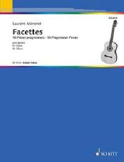 Facettes - Guitare Laurent Méneret Partition Guitare - laflutedepan
