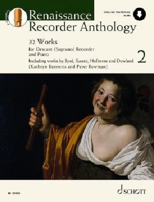 - Renaissance Recorder Anthology Vol. 2 - Sheet Music - di-arezzo.com