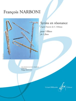 François Narboni - Syrinx in Resonance - 3 Flutes - Sheet Music - di-arezzo.co.uk