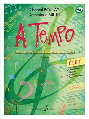BOULAY - MILLET - A Tempo Volume 9A - Written - Sheet Music - di-arezzo.com