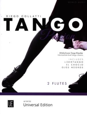 - Tango Passion - 2 Flûtes - Partition - di-arezzo.fr