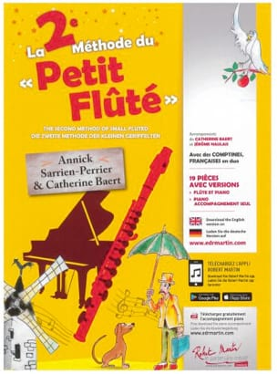 The 2nd Method of Little Flute - Sheet Music - di-arezzo.com