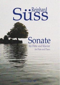 Reinhard Süss - Sonate - Flûte et piano - Partition - di-arezzo.fr