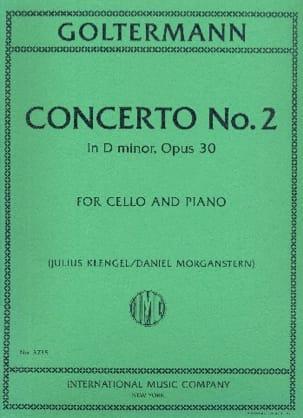 Concerto n° 2, op. 30 - Violoncelle et piano - laflutedepan.com