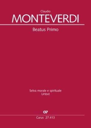 Beatus Primo - Conducteur - Claudio Monteverdi - laflutedepan.com
