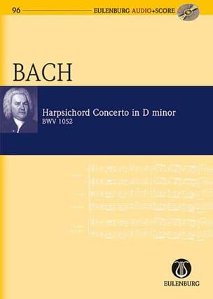 Johann Sebastian Bach - Concerto pour Clavecin, BWV 1052 - Conducteur + CD - Partition - di-arezzo.fr
