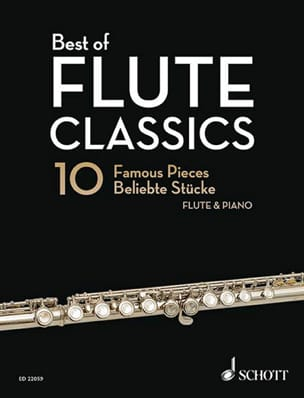 Best of Flute Classics - Flûte et piano Partition laflutedepan