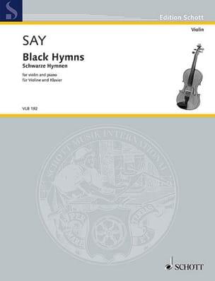 Fazil Say - Black Hymns - Violon et piano - Partition - di-arezzo.fr