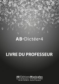 - AB dictation Volume 4 - Teacher's book - Sheet Music - di-arezzo.com