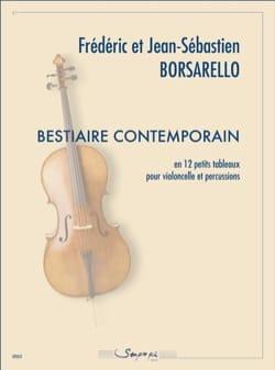 Borsarello Frédéric / Borsarello Jean-Sébastien - Bestiaire contemporain - Partition - di-arezzo.fr