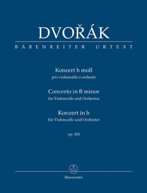 DVORAK - Cello Concerto op. 104 - Pocket Driver - Sheet Music - di-arezzo.co.uk
